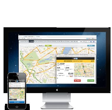 iPhone cab booking app ubiCabs