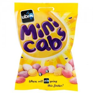 cadbury's minicabs