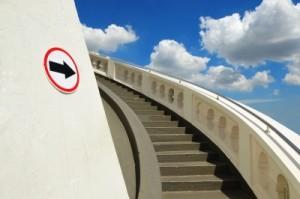 a long way up