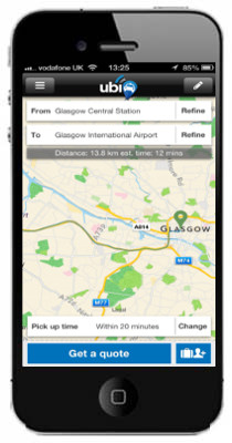glasgow iphone app
