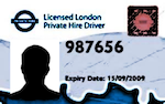 PCO drivers badge